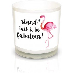 """Lumanare Parfumata cu mesaj """"Stand tall&be fabulous"""""""