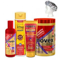Set   Keratina Braziliana Novex