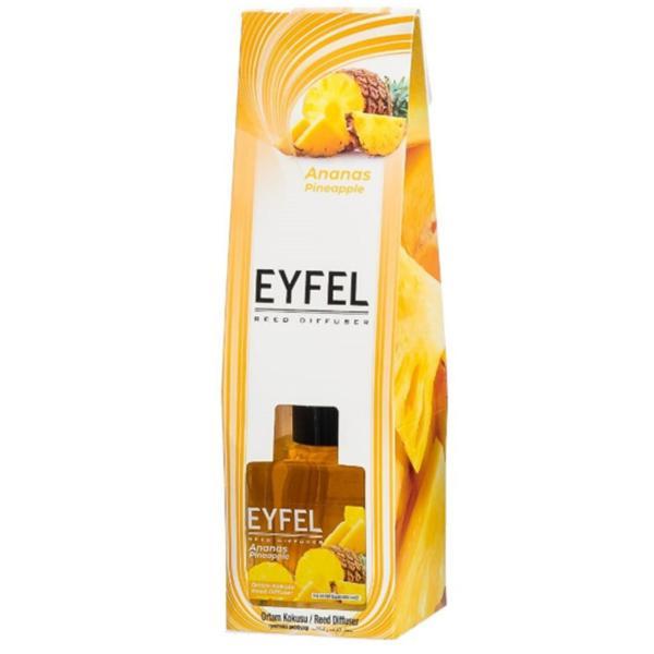 Odorizant cu Betisoare Parfumate Ananas, Eyfel, 120ml