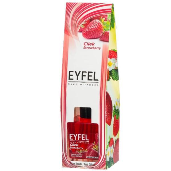 Odorizant cu Betisoare Parfumate Capsuni, Eyfel, 120ml